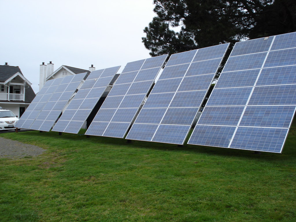 Solar Panel Array At Our Hotel Ian Kennedy Flickr