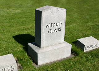 Middle Class RIP | by DonkeyHotey