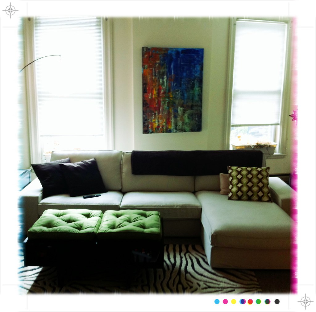 ... Ikea Kivik Sofa With Chaise | By Chapstick Addict
