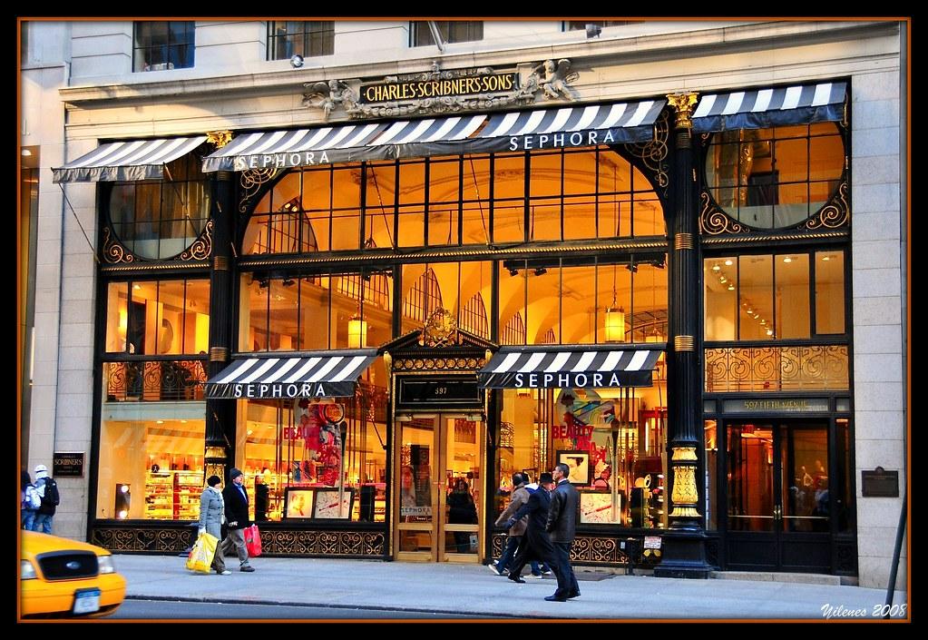 sephora store  manhattan  new york