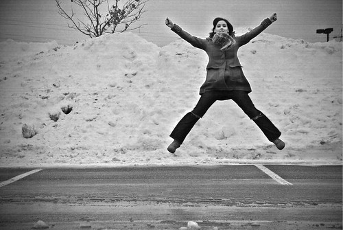 [129|365] leaping... or really just jumping. | by daily pleasure