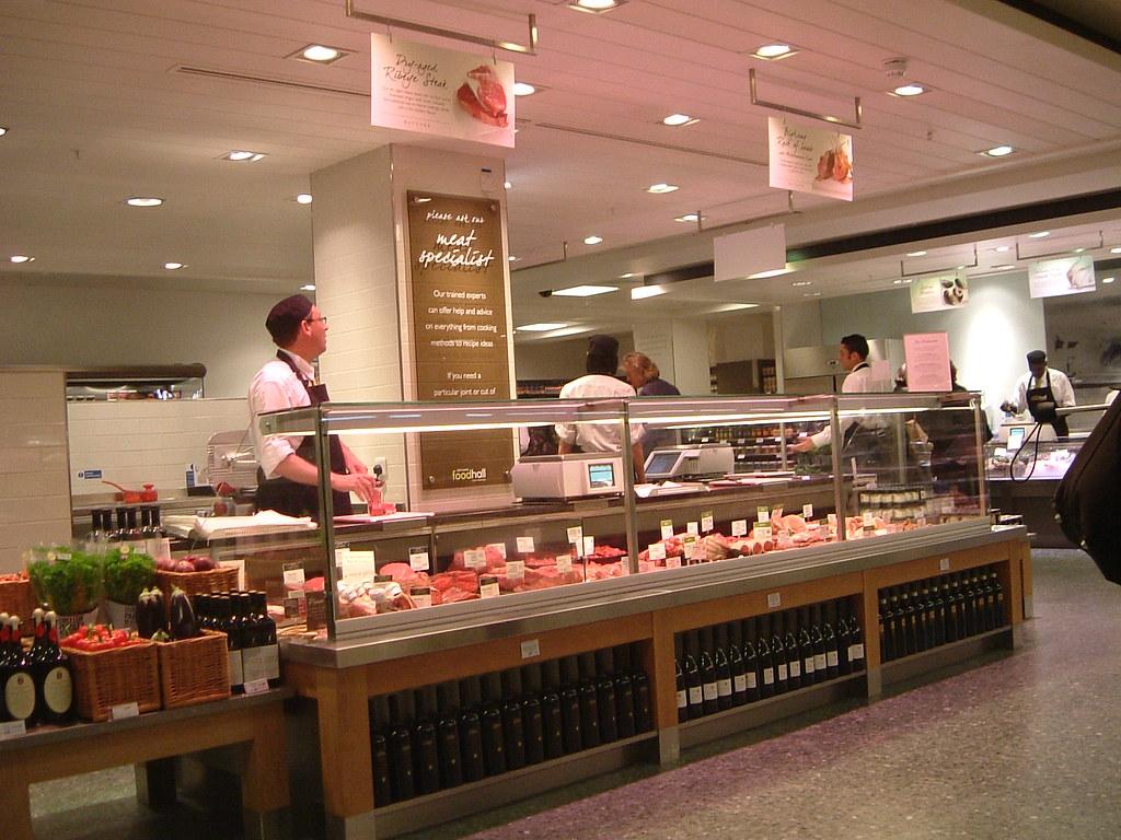 John Lewis Oxford Street Food Hall