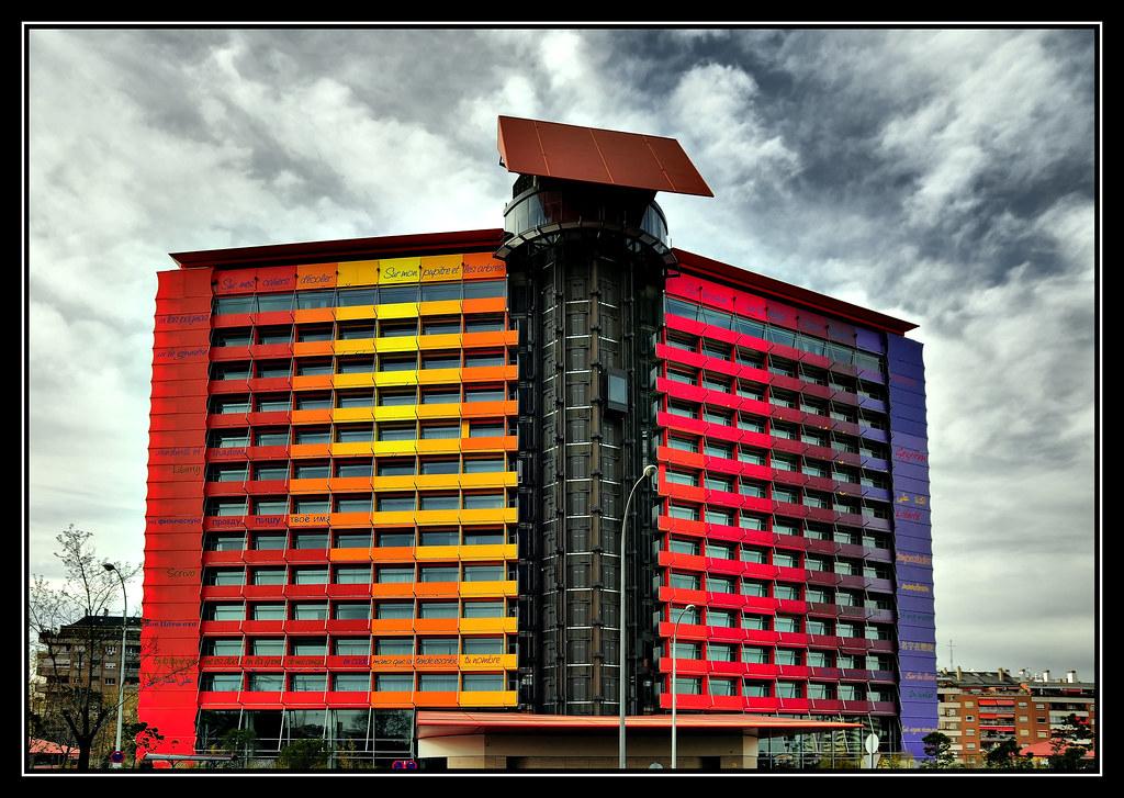 Hotel puerta america hdr hotel puerta america madrid flickr - Puerta america madrid ...