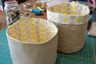 Alison W's Fabric Buckets | by the workroom