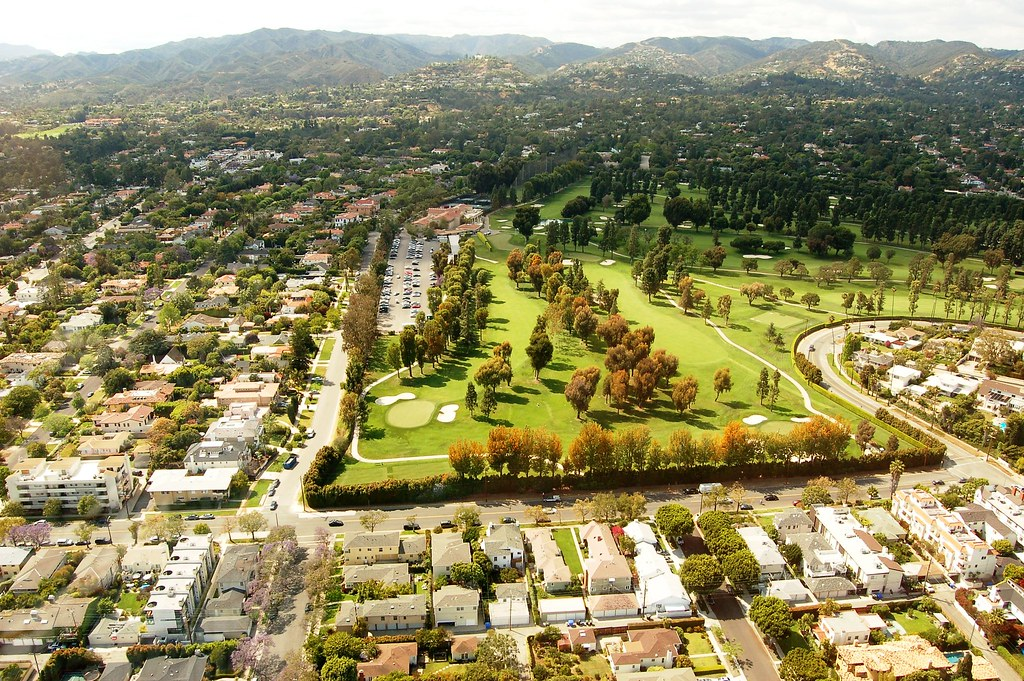 Brentwood Country Club Los Angeles Helicopter Tour Part