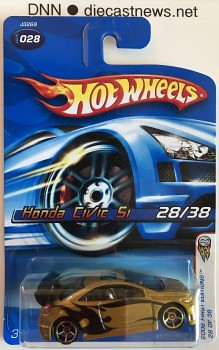 2006 Hot Wheels, Honda Civic Si, 2006 First Editions 28/38