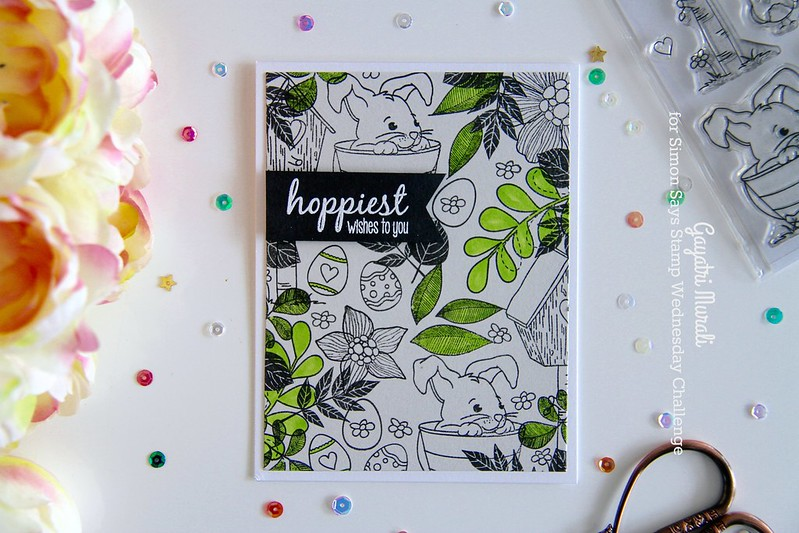 Hoppiest wishes to you card