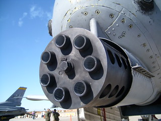 The business end of  an A-10 | by mmealling