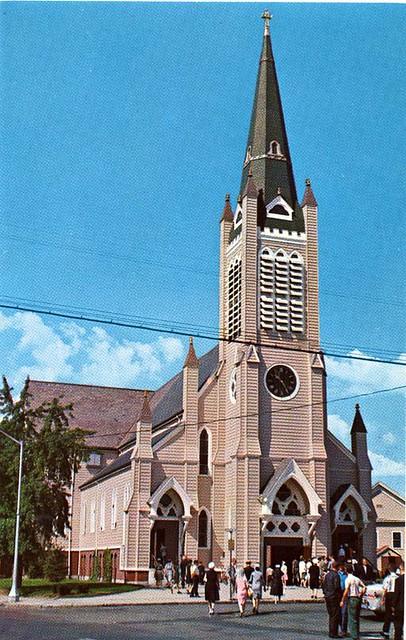 St. Joseph Church - Wakefield, MA | The old St. Joseph's ...