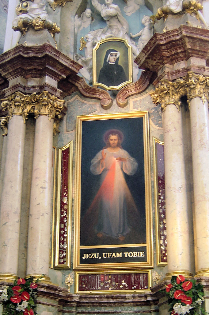 Who Painted The Divine Mercy Image