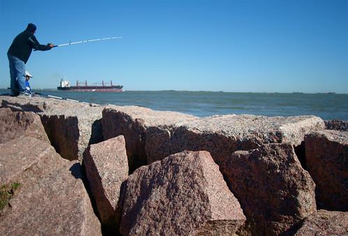 Fishing on the dike texas city tx texas city dike for Texas city fishing