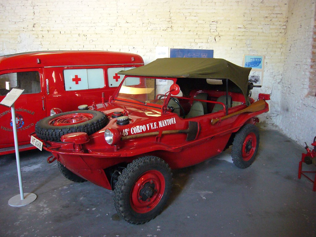 Schwimmwagen | Volkswagen Typ 166 Museo dei Vigili del Fuoco… | Flickr