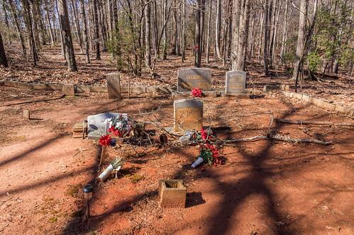 Vernon cemetery plot