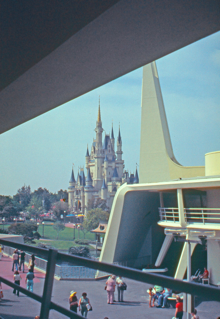Castle from WEDway #2  Cindy's Castle and Tomorrowland in 1…  Flickr