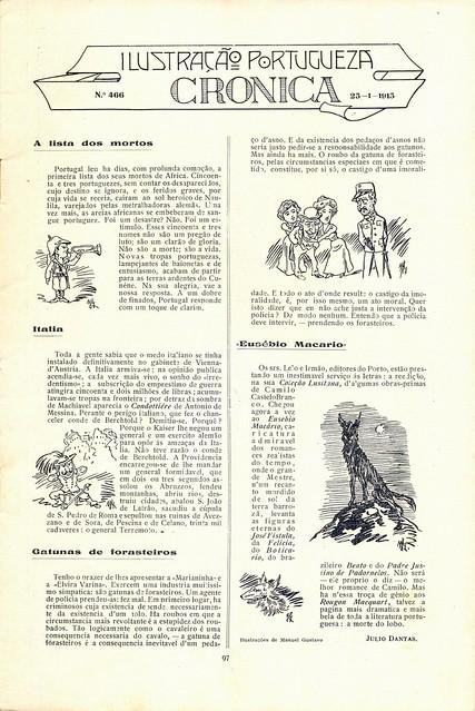 Ilustração Portugueza, No. 466, January 25 1915 - 2