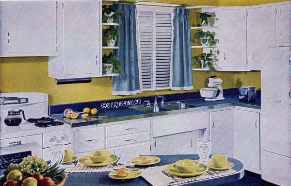 1950 Kitchen Design sparkling kitchens - kitchen designs of the 1950s | flickr