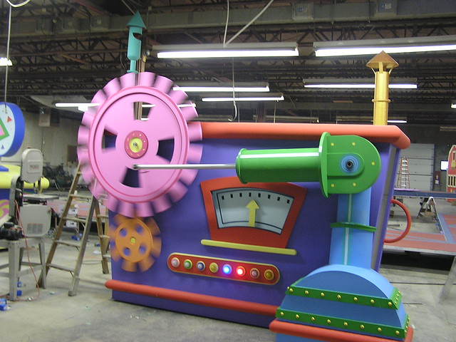 barney machine