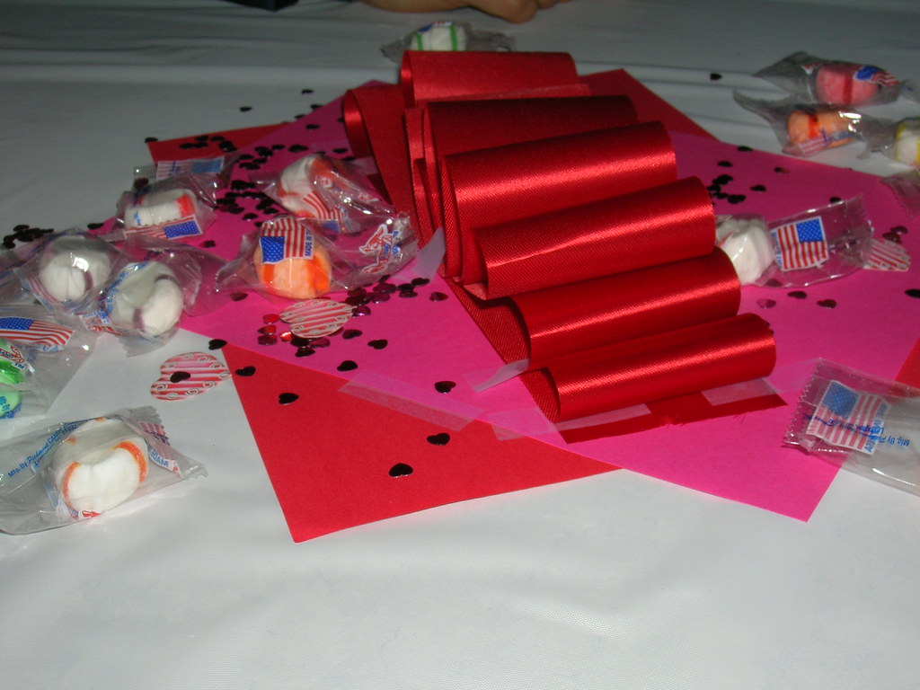 Valentine S Dance Decorations Ribbons And Mints Brian Turner