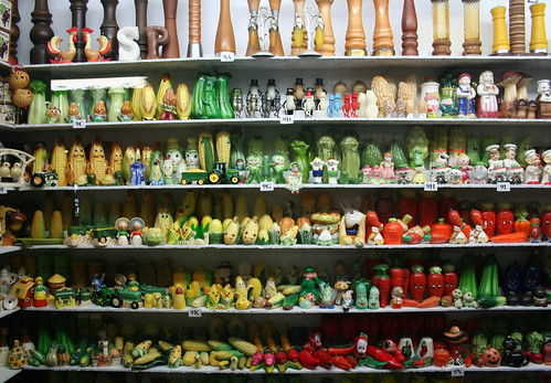 Behold:  The Salt and Pepper Shaker Museum