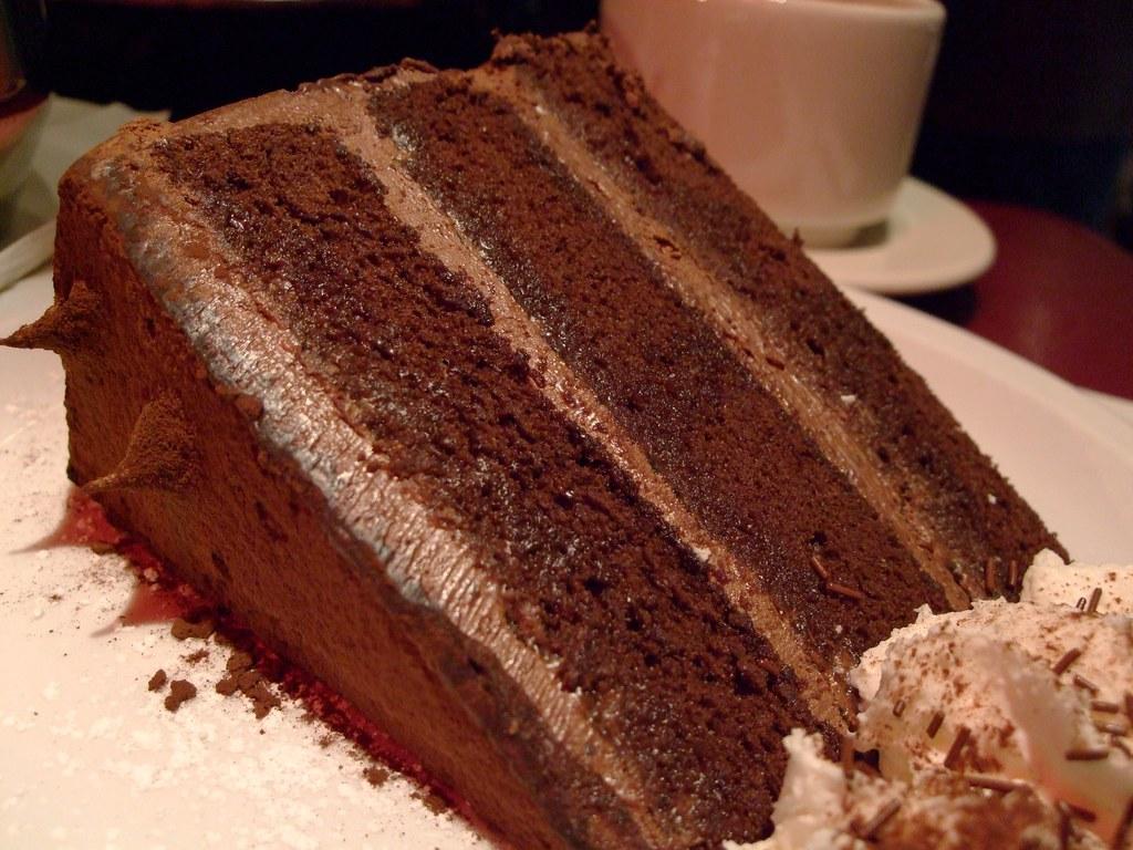 Chocolate Rum Cake With Raspberry Glaze