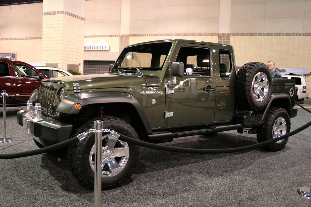 Jeep Gladiator Concept The 2008 News Sentinel Auto Show