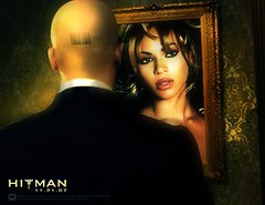 beyonce in hitmans mirror | by edu J