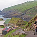 Mykines boathouses
