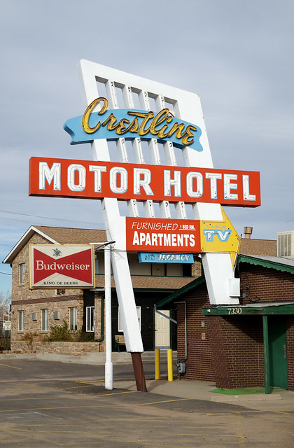 Crestline Motor Hotel Commerce City Co And A Classic