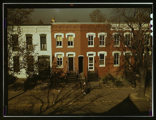 [Row houses, corner of N and Union Streets S.W., Washington, D.C.]  (LOC) | by The Library of Congress