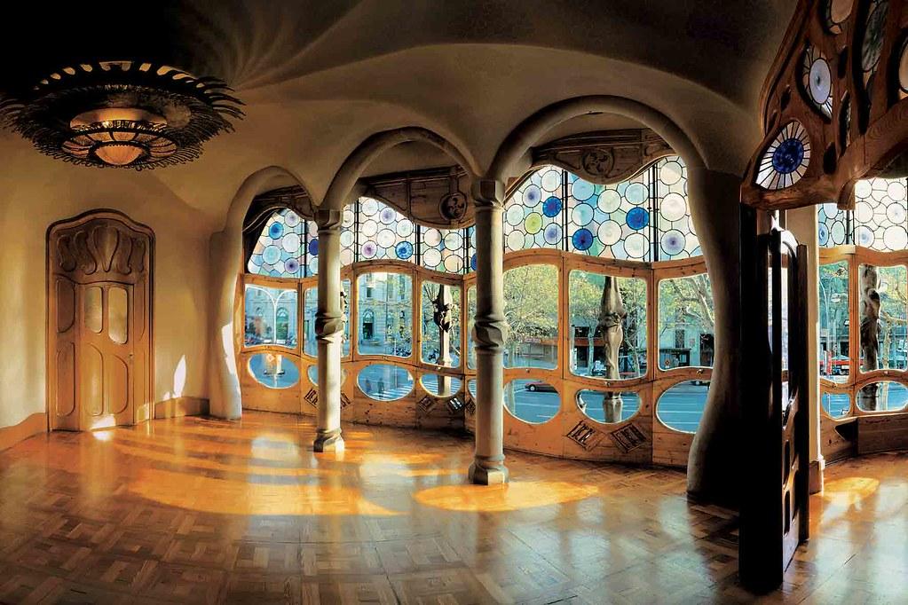 Casa Batlló | Intérieur de la Casa Batlló Inside of the Casa… | Flickr