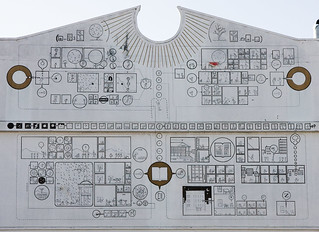 Chris Ware mural at 826 Valencia - crop | by unaesthetic