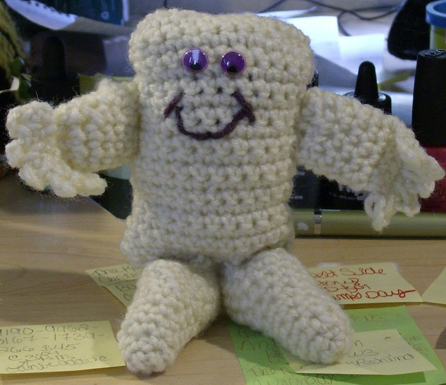 Ray The Adipose Baby Amigurmi Project Based On A Pattern A Flickr