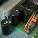 Bass amp capacitor busted