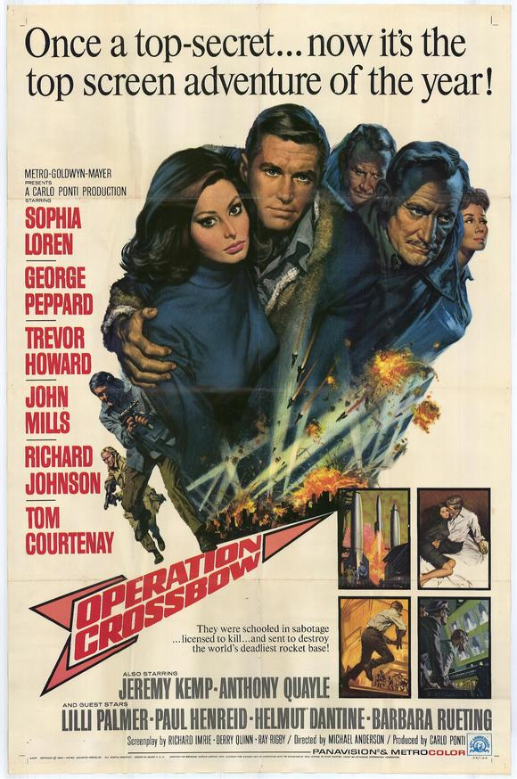 Operation Crossbow - Poster 1