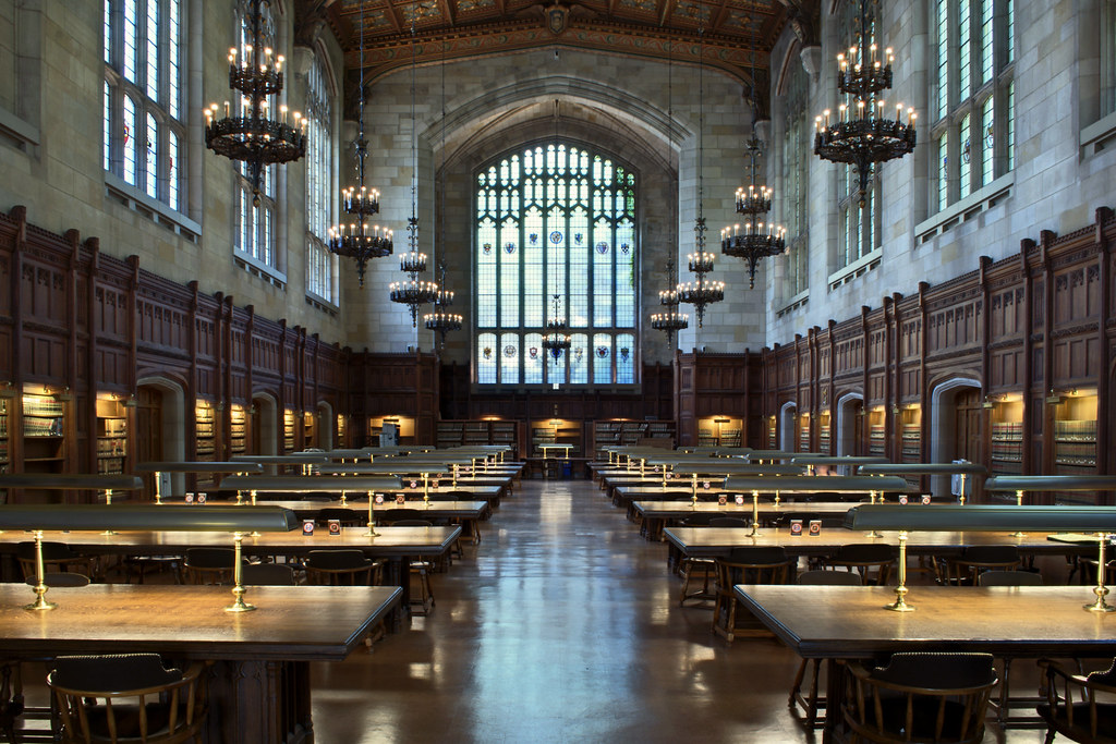 University of Michigan Law Library | Not very original, I kn… | Flickr