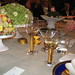 Nobel table setting and flowers