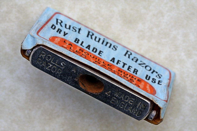 rust ruins razors dry blade after use flickr photo. Black Bedroom Furniture Sets. Home Design Ideas