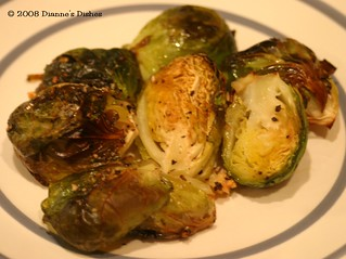 Roasted Brussels Sprouts with Garlic | by Dianne's Dishes