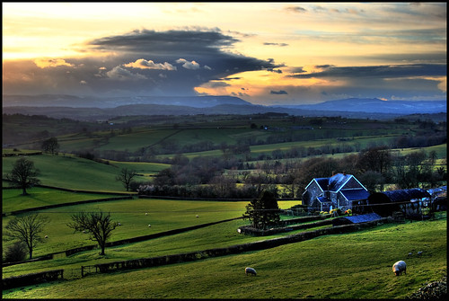 South Wales Landscape East Wales Landscape