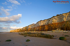 Hunstanton Beach and cliffs at Dusk_E2D3168_1 | by Nigel Blake, 14 MILLION...Yay! Many thanks!