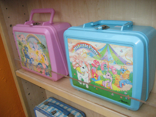 my little pony lunch boxes billy galaxy flickr. Black Bedroom Furniture Sets. Home Design Ideas