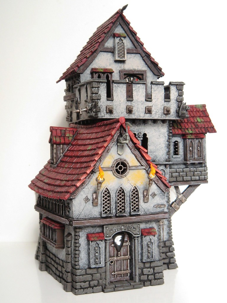 Warhammer Haunted Tower 1 Converted Fortified Manor House