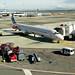 NYC0710 236 Milan Malpensa airport - SAS plane