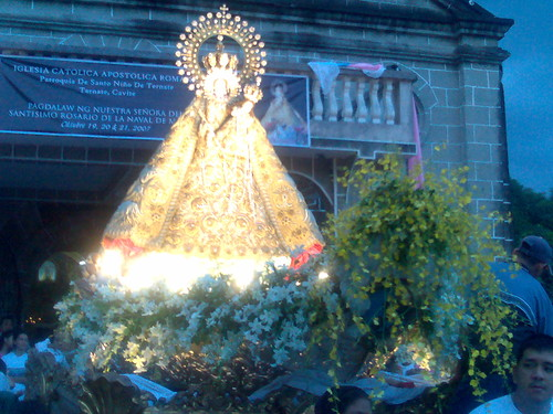 The Santo Rosario on her carroza tríunfal | by il Bambino III