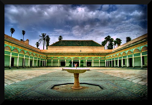 El Bahia Palace Marrakech Ste Flickr