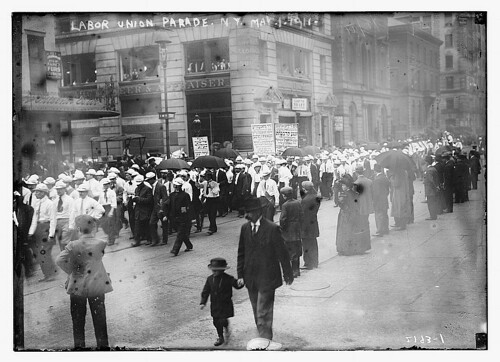 Labor union parade, NY., May 1, 1911  (LOC) | by The Library of Congress