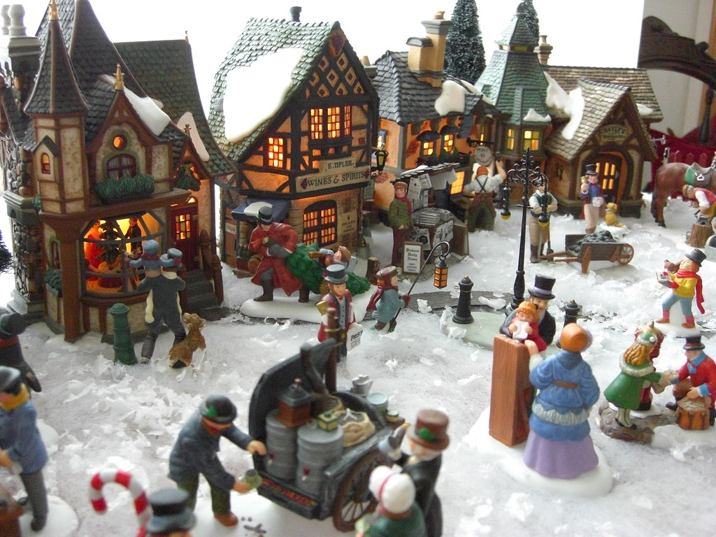 miniature christmas village by sherwood411 miniature christmas village by sherwood411 - Miniature Christmas Village