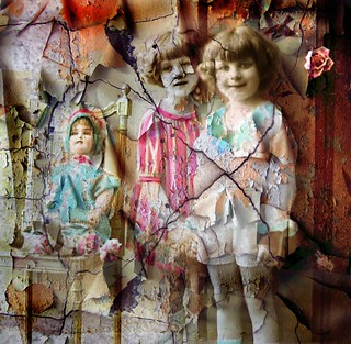 Mixed Media Altered Art - Collage | by collage a day