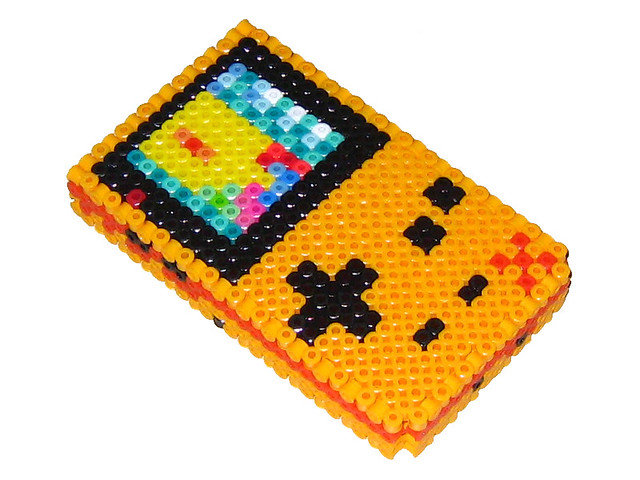 how to make 3d perler bead art
