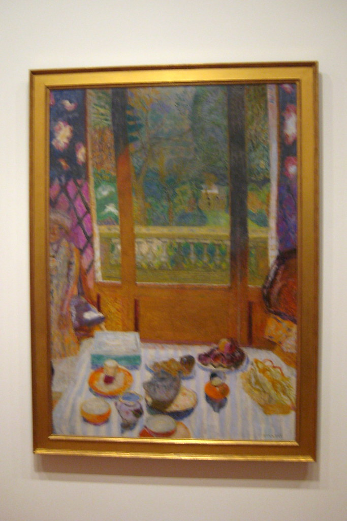 Nyc Moma Pierre Bonnard S Dining Room Overlooking The G